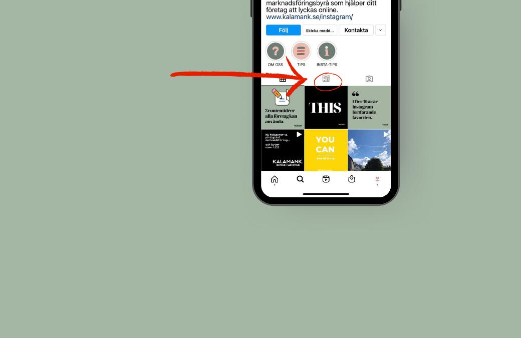 Din guide till instagram guides
